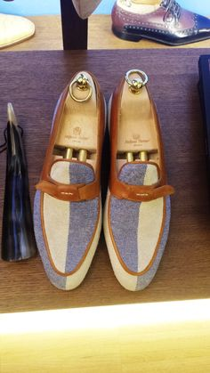 Stefano Bemer Two Tone Shoes