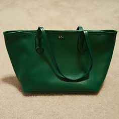 Lauren by Ralph Lauren classic tote Beautiful emerald green bag from Lauren by Ralph Lauren. Great condition! Ralph Lauren Bags Totes