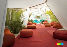 Outdoor / Gardening:Diy Outdoor Lounge Furniture Decor Ikea Chairs Elegant Sofa Cushion Pillows Cheap Table Chaise Lounge Design Double Chaise Lounge For Living Room Decorating Plush Outdoor Seating Ideas For Those Who Love Bright Hues Luxurious Decoration Collection From Paola Lenti Redefines Your Outdoor Lounge Decor