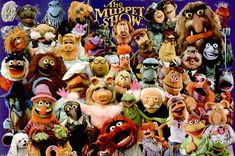 The Muppet Show cast!!! ~The Muppets