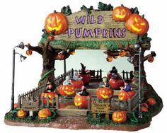 Lemax Wild Pumpkin Ride with Adaptor