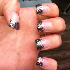 My sparkly nails