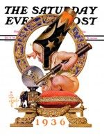 Baby New Year and Crystal Ball J.C. Leyendecker January 4, 1936 - See more at: http://www.saturdayeveningpost.com/artists-gallery/saturday-evening-post-cover-artists/jc-leyendecker-art-gallery#sthash.69CWDkYk.dpuf