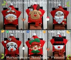 Xmas, Christmas Ornaments, Cute Crafts, Ideas Para, Cross Stitch, Baby Shower, Holiday Decor, Home Decor, Slipcovers For Chairs