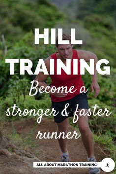 Hill repeats are the best way to get your body ready for speed training. Here are the tips and techniques on form, stride, etc. that will help you conserve energy and increase speed on the hills. Running Training Plan, Strength Training For Runners, Running Humor, Speed Training, Running Motivation, Running Workouts, Training Tips, Marathon Training For Beginners, Half Marathon Training Plan