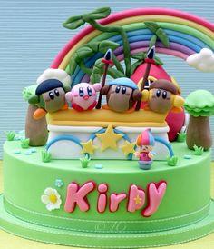 Nintendo Kirby Cake