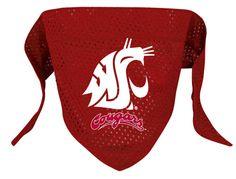 Washington State Cougars Dog Bandana