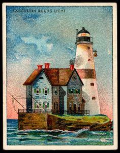 Cigarette Card - Execution Rocks Lighthouse | Flickr - Photo Sharing!
