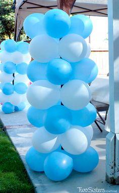 Disney Frozen Balloon Decorations