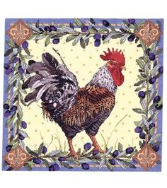 Bucilla  Counted Cross Stitch Kit-Rooster
