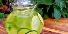 Agua de jengibre, pepino y limón para bajar 9 libras en una semana