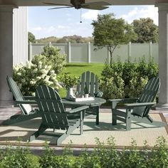 Adirondack Chairs, Outdoor Chairs, Outdoor Decor, Zen Place, Fresh Squeezed Lemonade, Patio Seating, Wet Weather, It's Easy, Backyard