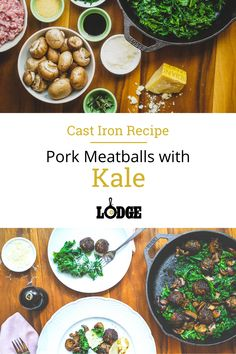 This heavenly meatball recipe is packed with sautéed kale and parmesan, then cooked in olive oil spiked with rosemary for a crispy finish.