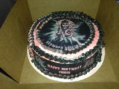 Son Of Anarchy Cake