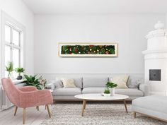 This wall panel is an actual indoor flower garden made with preserved flowers and botanicals. It lasts years with ZERO maintenance needed! Abstract Nature, Abstract Wall Art, Nature Prints, Art Prints, Alcohol Ink Art, Digital Wall, Rodin, Printable Wall Art, Canvas Wall Art