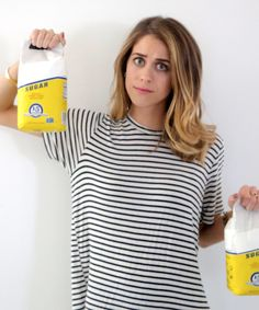 No-Sugar Detox Diet Food Experiment, Lucie Fink | Sugar. It's my best friend and my enemy. It's the thing I always say I'm going to cut back on, but the one thing I can never seem to get enough of. #refinery29 http://www.refinery29.com/no-sugar-detox-diet-video-diary