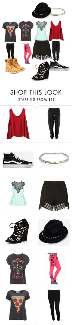 """Untitled #7226"" by coolkitymecool ❤ liked on Polyvore featuring WithChic, Vans, Jennifer Behr, City Chic, Topshop, River Island, Valentino, And Finally, Wildfox and M&Co"