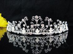 25.00$  Buy here - http://viwux.justgood.pw/vig/item.php?t=g2hf5ve30964 - WEDDING HEADPIECE;CRYSTAL TIARAS;BRIDAL ACCESSORIES;BRIDESMAID REGAL;COMB 5033S