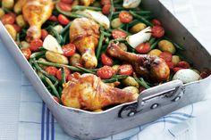 Basis voor peri-peri kip gerecht: Kipdrumsticks & sperziebonen van AH.