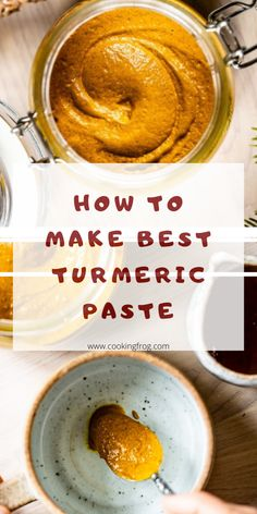 This is the homemade recipe on how to make Best Turmeric Paste to take full advantage on the healing properties of turmeric's healing power. Turmeric Detox, Turmeric Drink, Turmeric Spice, Turmeric Recipes, Fresh Turmeric Paste Recipe, Best Nutrition Food, Health And Nutrition, Milk Recipes, Healthy Recipes