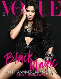 Freida Pinto for Vogue India November 2013