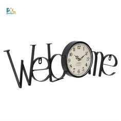 Dekoratívne hodiny, ktoré sa môžu stať dokonalým doplnkom Vašej domácnosti, kancelárie, pracovne alebo obývačky. Clock, Wall, Home Decor, Watch, Decoration Home, Room Decor, Clocks, Walls, Home Interior Design