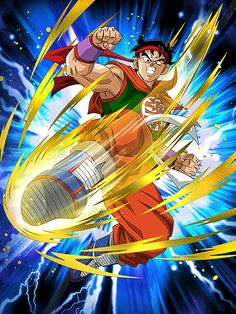 """[First Step to a Martial Artist] Yamcha """"I have no choice but to unleash the Wolf Fang Fist!"""""""