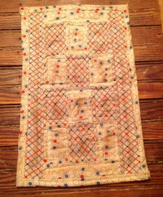 Mini Quilt.......ofg........faap by hootnanniesbyjeanne on Etsy, $15.00