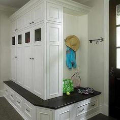 Built In Mudroom Cabinets, Traditional, kitchen, Reynolds Architecture