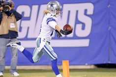 Beasley with the touchdown! #DALvsNYG