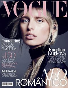Karolina Kurkova Covers Vogue Portugal October 2015