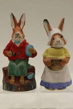 German Rabbit Candy Containers