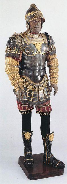 """Parade Harness """"alia romana"""" of Filippo Negroli"""
