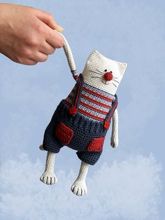 Ravelry: Julius the Happy Chef Cat by Nelly Shkuro