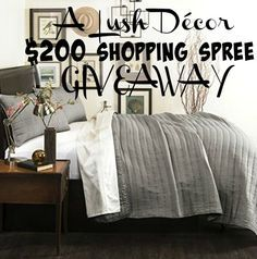 A Lush Decor Product Review and $200 Shopping Spree Sweepstakes - The Mindful Shopper