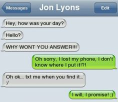Funny stupid text message - Jokes, Memes & Pictures