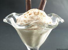 Helado de leche merengada con avellanas - MisThermorecetas