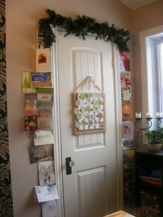 The Complete Guide to Imperfect Homemaking: What to do with Old Christmas Cards Old Christmas, Christmas Is Coming, A Christmas Story, Christmas Holidays, Christmas Ideas, Holiday Ideas, Christmas Stuff, Christmas Ornament Storage, Christmas Card Display