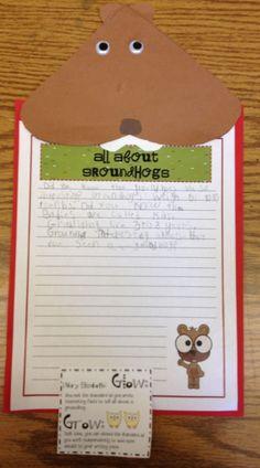 Learning is a Journey - Social Studies Blog - Groundhog Day writing. #teaching #Language Arts #Social Studies #GroundhogDay #Groundhog #Holiday #writing FOLLOW ON FB: http://fb.com/learningisajourney