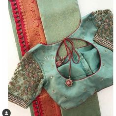 Netted Blouse Designs, Cutwork Blouse Designs, Fancy Blouse Designs, Bridal Blouse Designs, Indian Blouse Designs, Blouse Patterns, Latest Saree Blouse Designs, Hand Work Blouse Design, Stylish Blouse Design
