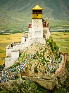 Tibet is located in the highest region of the world, which is why it is often referred to as the 'Roof of the World' Nepal, The Places Youll Go, Places To See, Laos, Beautiful World, Beautiful Places, Vietnam, Rose Croix, Taj Mahal