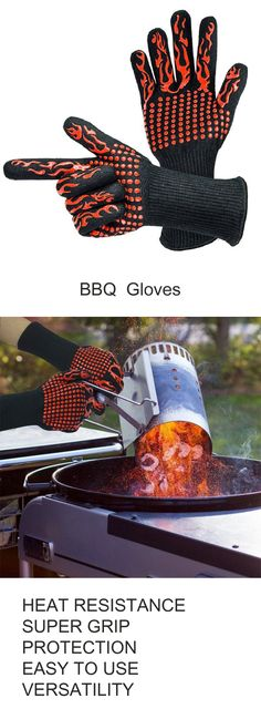 Bbq Grill, Barbecue, Grilling, Bbq Accessories, Oven Glove, Grill Master, Arm Warmers, Mittens, Gloves