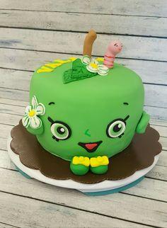 Apple blossom Shopkins birthday cake