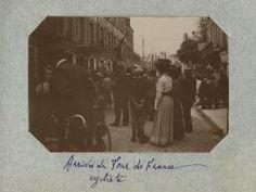 Saint-Lô, l'arrivée du tour de France, 1909