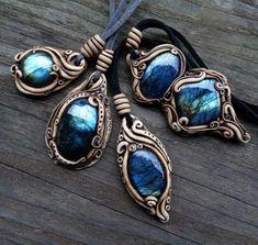 Amazing Beauty Of Crystal Jewelry Polymer Clay Pendant, Polymer Clay Crafts, Polymer Clay Jewelry, Polymer Clay Projects, Polymer Clay Creations, Metal Clay Jewelry, Bijoux Diy, Fantasy Jewelry, Crystal Jewelry