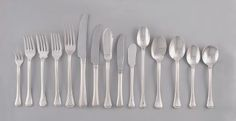 Traditional Silver flatware