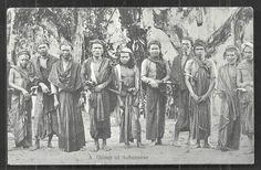 Atjeh Aceh Men Sword Costume Sumatra Indonesia CA 1910 | eBay