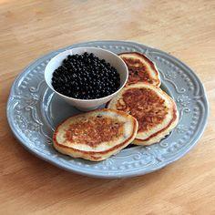 Elderberry Pancakes - Wild Harvest Recipe