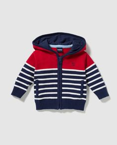 Best 12 Freestyle striped baby boy jacket with hood More – Canan Mete – – Freestyle striped baby – SkillOfKing. Crochet Baby Sweater Pattern, Baby Boy Knitting Patterns, Crochet Baby Jacket, Baby Sweater Patterns, Winter Baby Clothes, Baby Winter, Baby Boy Outfits, Kids Outfits, Baby Boy Jackets