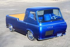 Legendary builder, Gene Winfield couldn't track down the original Ford Econoline he built back in the 1960s for the Ford Custom Car Caravan, so he re-created this one for the 2012 SEMA Show, featuring a pair of Optima YellowTop batteries